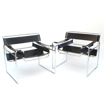 wassily chair von marcel breuer replica m bel z rich. Black Bedroom Furniture Sets. Home Design Ideas