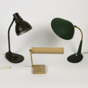div. Antike Tischlampen Büromöbel