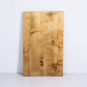 Ahorn Tischplatte, geschliffen und geölt Möbel