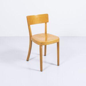 Beizenstühle von G. Bise aus Fribourg Holzstuhl