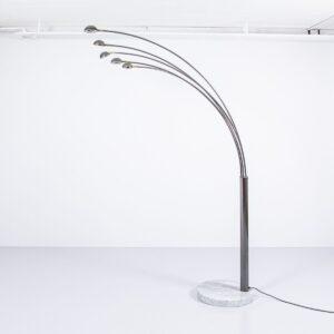 5-Arm Bogenleuchte auf Marmorfuss Lampen