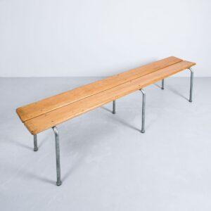 Holzbank aus Buche, 200cm, stapelbar Bank