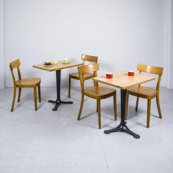 Bistroplatte Buche, lackiert Möbel