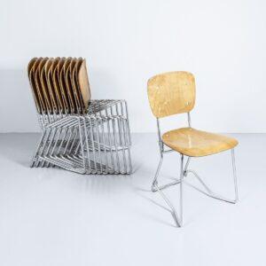 Aluflex Stuhl von Armin Wirth Designerstuhl