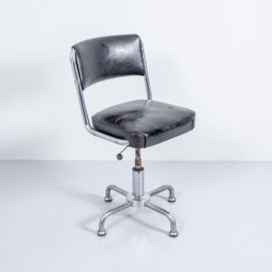 50er Jahre Stoll Giroflex Bürostuhl, drehbar Büromöbel