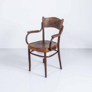 Horgen Glarus Bugholzstuhl mit Armlehne Armlehnstuhl