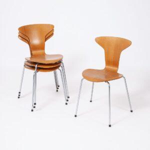 3105 Mosquito Stuhl von Arne Jacobsen für Fritz Hansen Designerstuhl