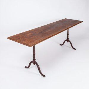 1 Paar Gusseisenbeine Horgen Glarus Tisch