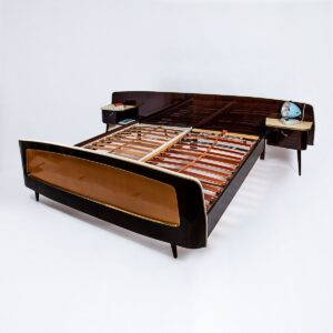 50er Jahre Doppelbett Bett