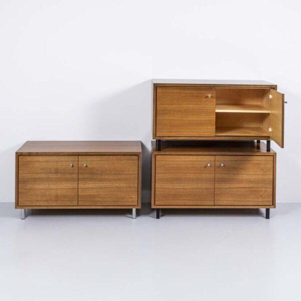 60er Jahre Nussbaum Sideboard Möbel