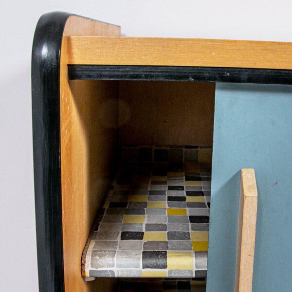 50er Jahre PAGO Sideboard mit Schiebetüren Möbel