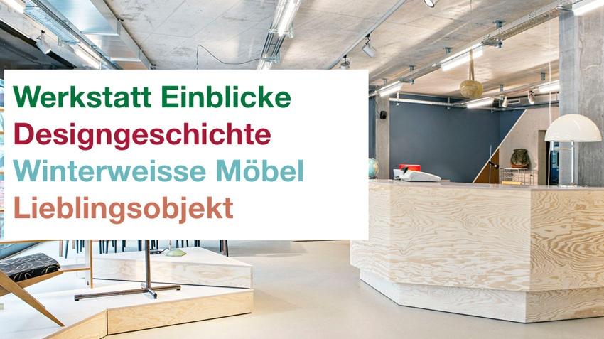 Werkstatt Einblicke – Designgeschichte – Winterweisse Möbel – Lieblingsobjekt