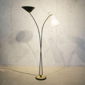 50er Jahre Stehlampe Lampen
