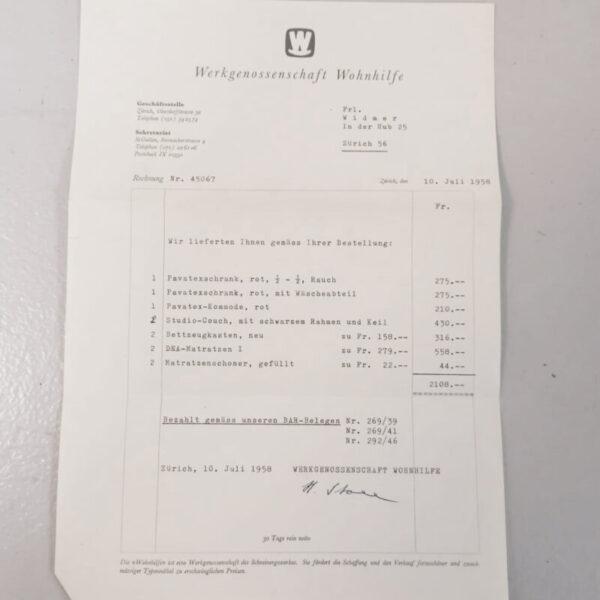 50er Jahre Willy Guhl Kleiderschrank Kleiderschrank