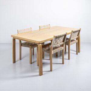 Artek 83 Tisch von Alvar Aalto Büromöbel