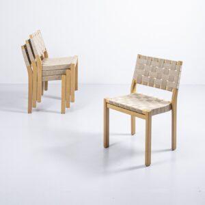 Artek 611 Stuhl von Alvar Aalto Designerstuhl