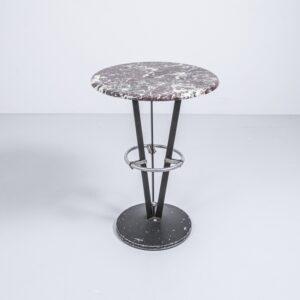 Bistrotisch mit Steinplatte Gartenmöbel