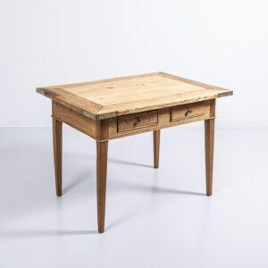 Eichen Holztisch mit Schubladen, geschliffen und geölt Esstisch
