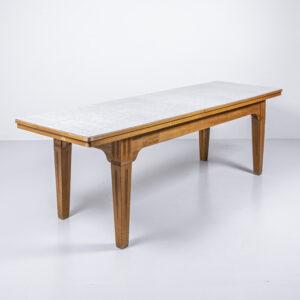 Buchen Holztisch mit Kelkoplatte Esstisch