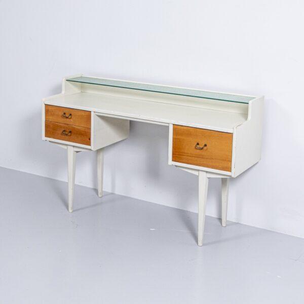 50er Jahre Schreibtisch / Schminktisch Bürotisch