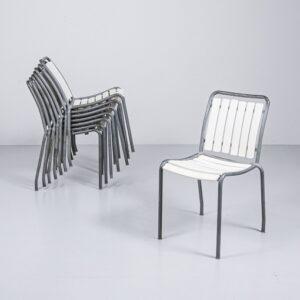 Bigla Gartenstuhl mit Kunststofflatten Gartenmöbel