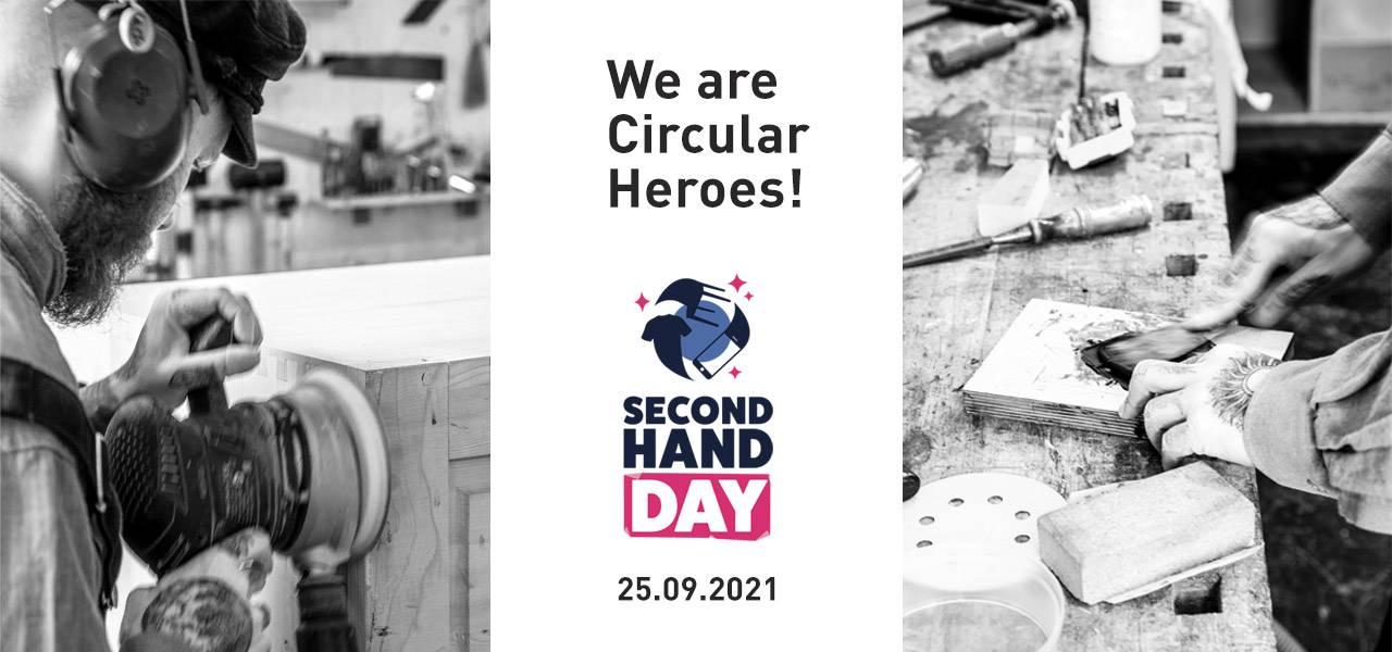 We are Circular Heroes. Wir machen mit beim Secondhandday 2021