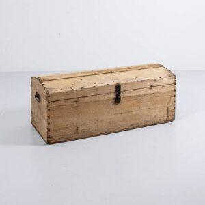 Antike Tannen Holztruhe Besonderes